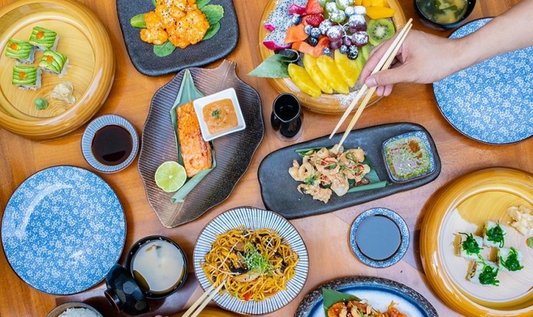 Japanese cuisine at Taikun.