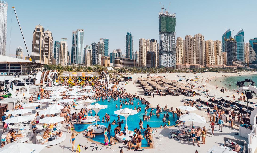 Zero gravity, Beach, Club, National day