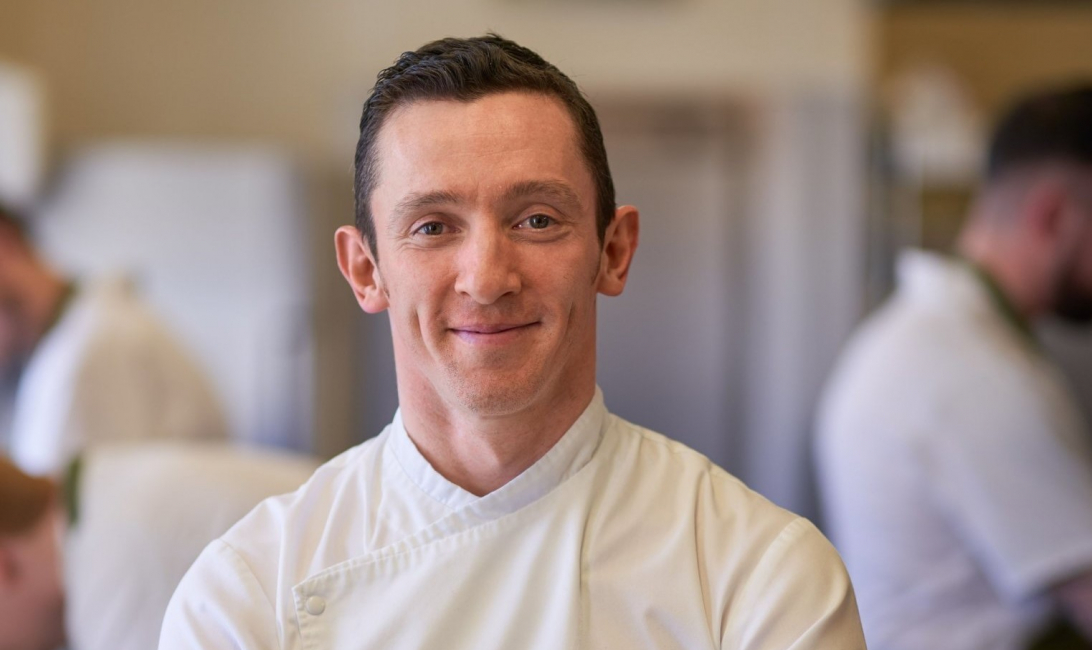 James Coffey, head chef of the Park Hotel Kenmare, County Kerry, Ireland.