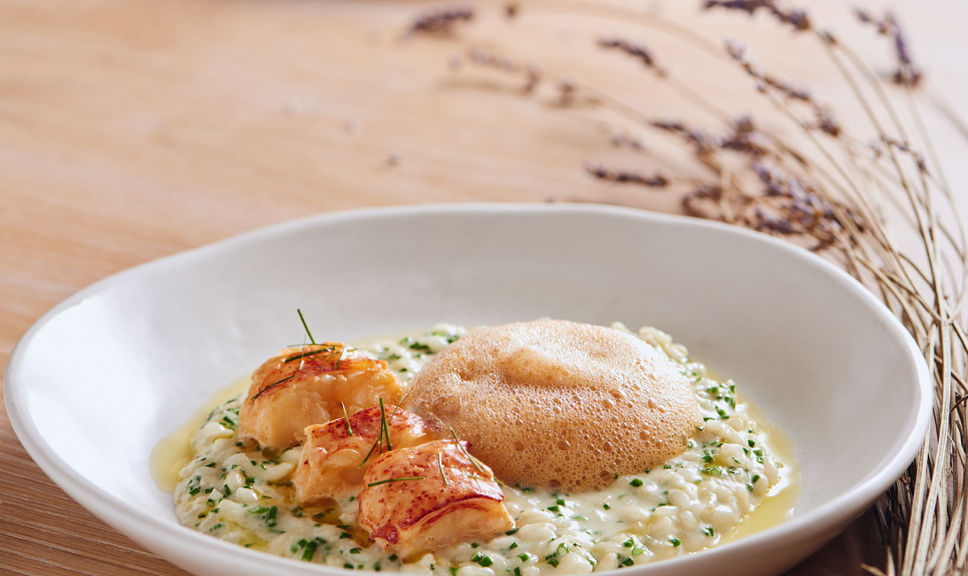 Butter poached lobster is one of the keto dishes available at Renaissance Downtown.
