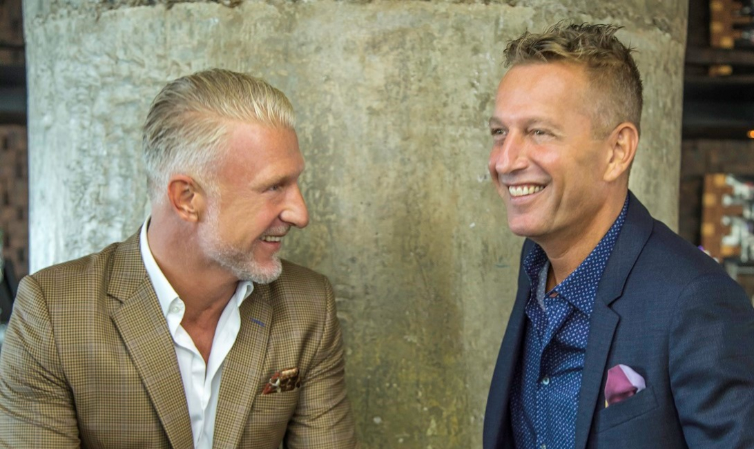 Paul Evans and Freek Teusink lead Solutions Leisure.