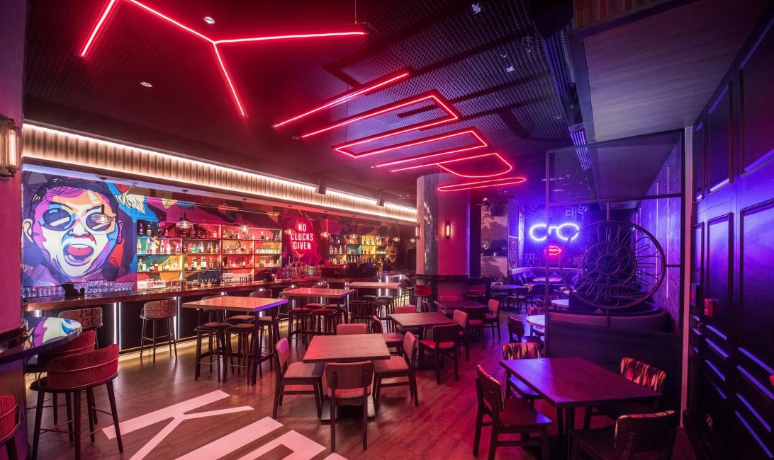 Kimpo, Korean, Street food, Conrad, Dubai, Bar, Beer