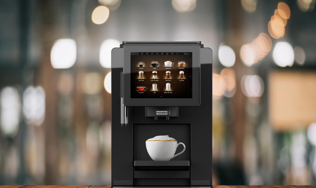 The new Franke A300 brings the premium coffee experience to even the smallest locations.