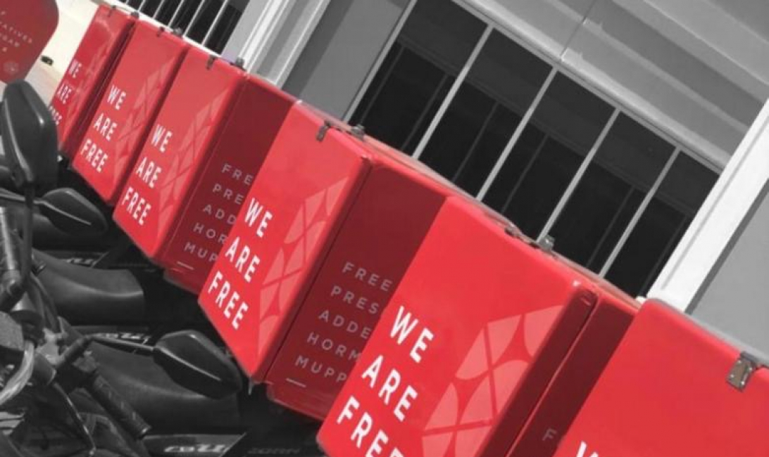 Krush Brands has its own delivery platform
