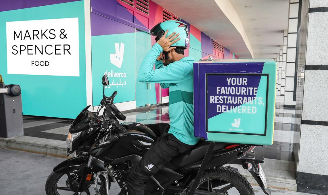 Deliveroo, Marks & spencer