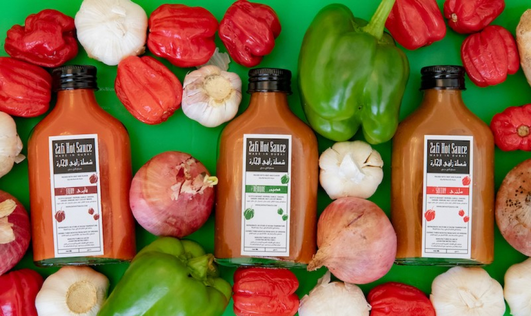 Zafi Hot Sauce comes in three flavours