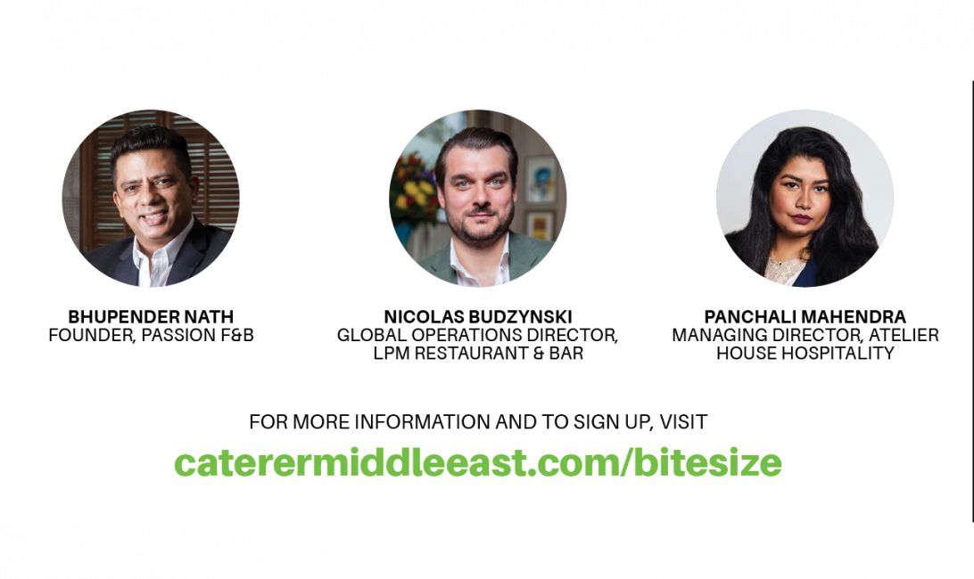 Top restaurateurs will be on the panel and taking your questions