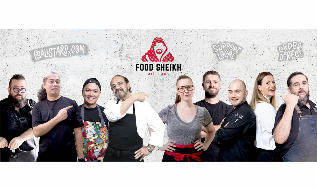 The Food Sheikh All Stars includes some of Dubai's top chefs