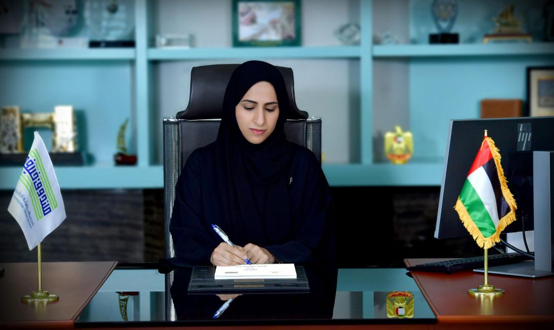 Mouza Obaid Al Nasri, acting CEO of Khalifa Fund for Enterprise Development,