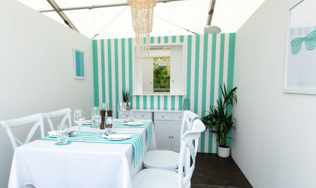 The venue has 16 private dining rooms