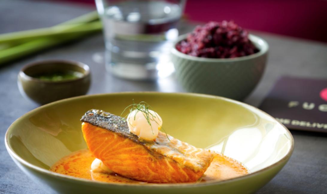 Salmon, Thai, Fuchsia urban thai, How to, Recipe