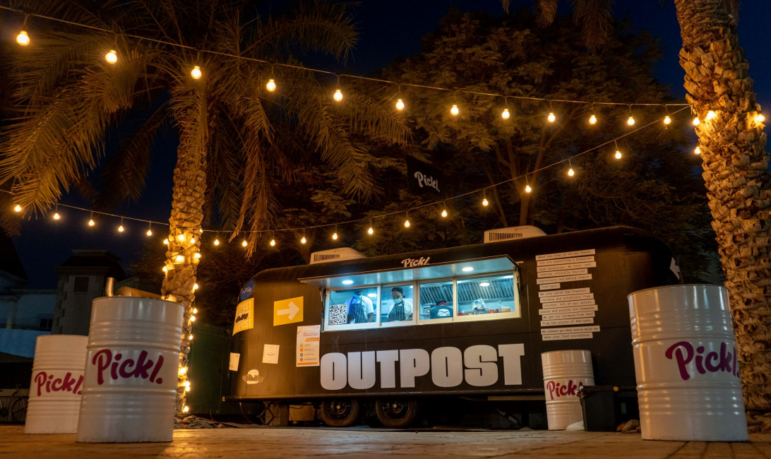 Pickl, Burgers, Dubai, Food truck