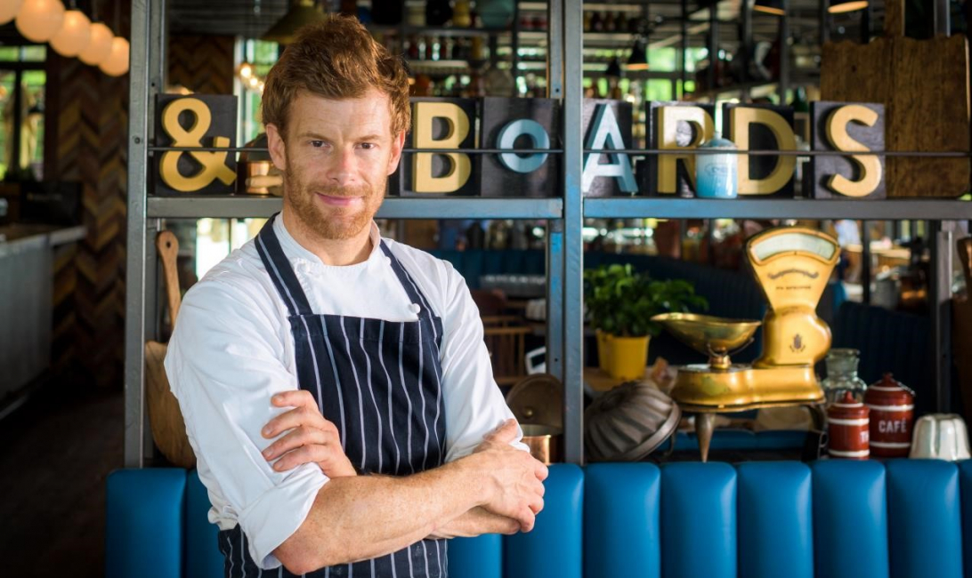 Tom aikens, Pots pans and boards